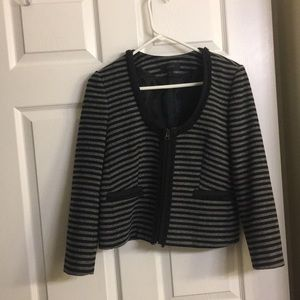 Jcrew black and gray blazer/jacket